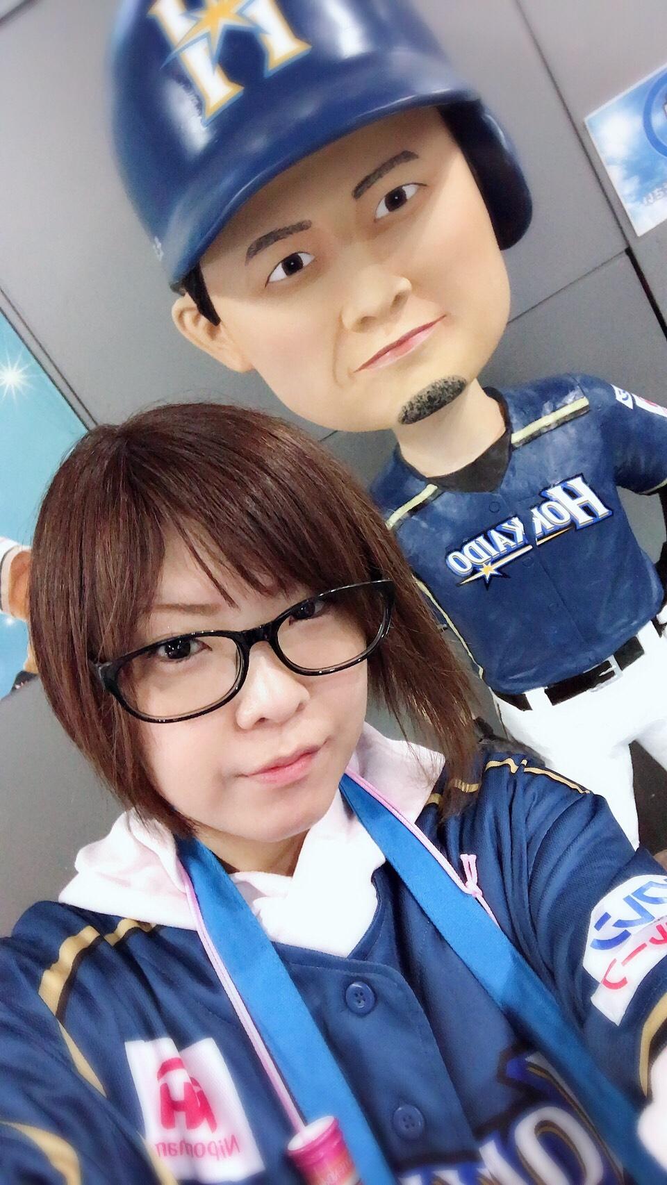 西川選手とパシャリ